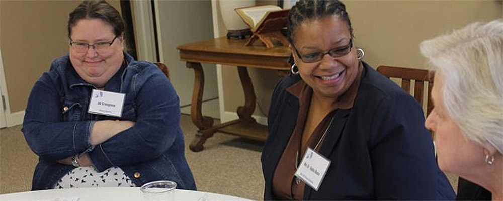 Participants at the Anderson District and District Connectional Ministries' Mental Health conference. Photo by Nicole Kulick