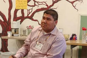 The Rev. Chebon Kernell, executive director of the Native American Comprehensive Plan participated in the 3-day meeting. Courtesy photo.