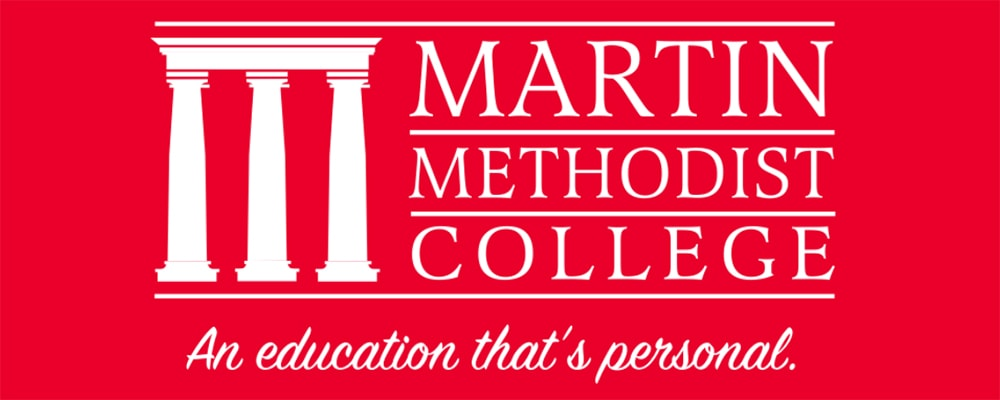 Martin Methodist College Celebrates 150 Years of Ministry in 2020 (goes live 11-4) School logo. Courtesy photo.