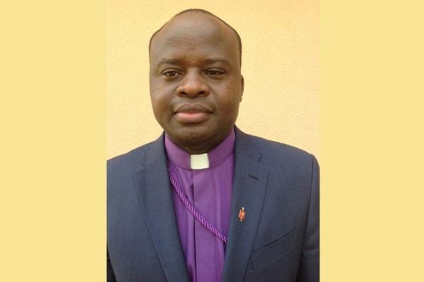 Portrait of Bishop Mande Muyombo. (Photo by Pierre Omadjela, UM News.)