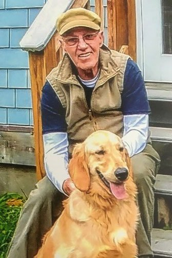 Jackson Rogers plans to train his dog, Jake, to become a therapy dog. Photo courtesy of Jackson Rogers.