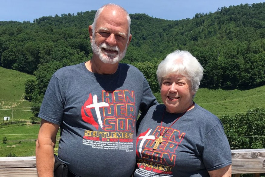 Bill and Laura Roy travel every summer to volunteer at Henderson Settlement in Frakes, Kentucky. Photo courtesy Mike Feely, Henderson Settlement.