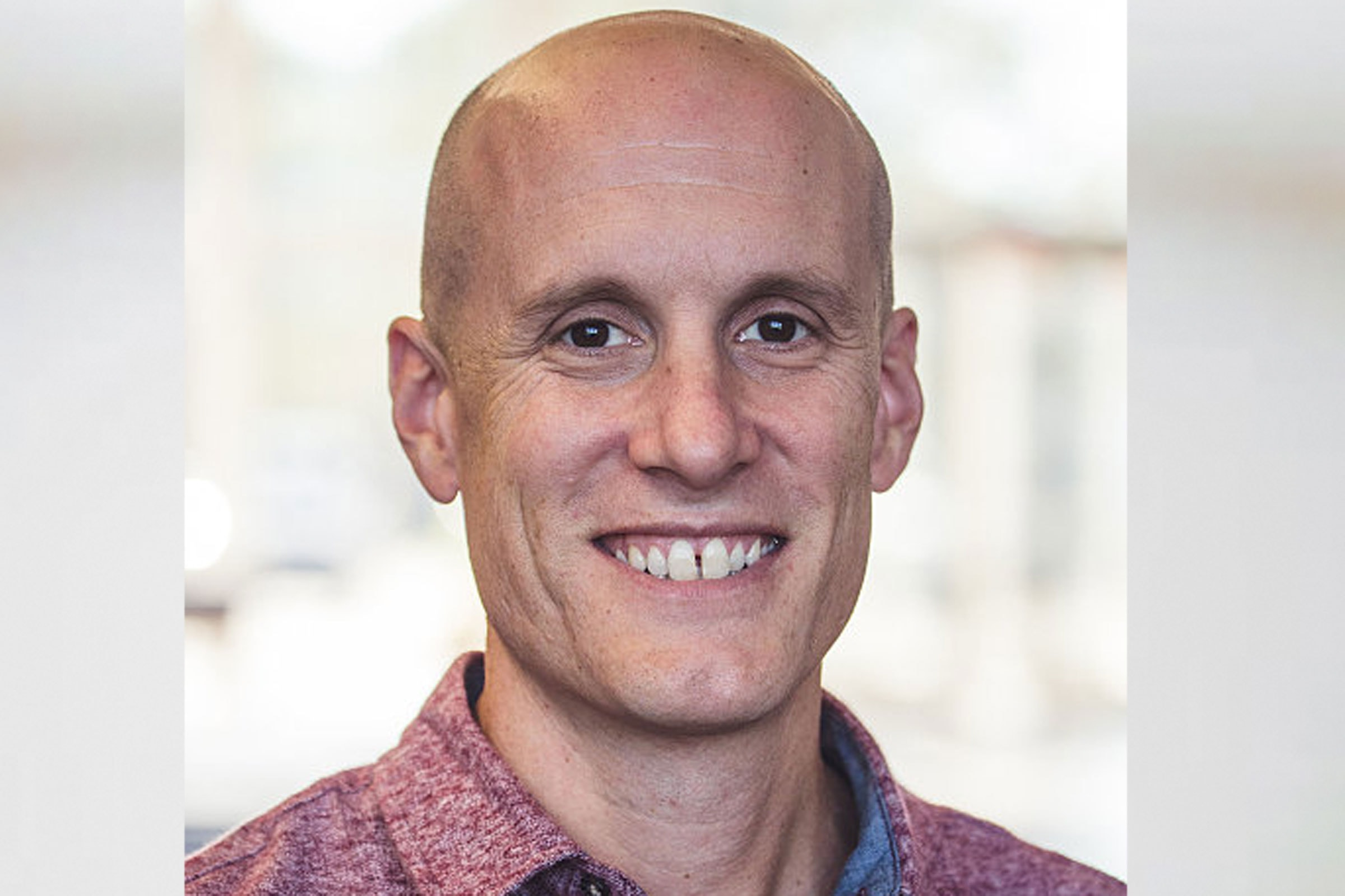 The Rev. Matt Miofsky of The Gathering United Methodist Church, St. Louis, Missouri, is the author of 'Let Go: Move beyond fear into the life God wants for you.' Photo courtesy United Methodist Publishing House.