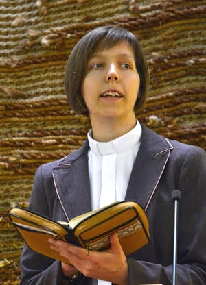 The Rev. Lilla Lakatos is a pastor in Hungary. Photo courtesy of The Rev. Lilla Lakatos.