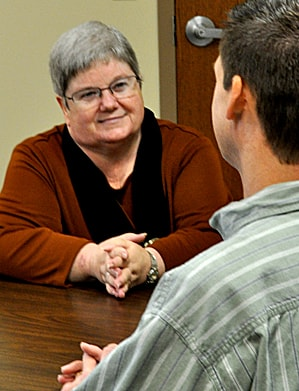 """The Rev. Bev Hall is a pastor in Ohio. She recalls once performing a funeral for a mother and child who died during childbirth, and the husband and father asked her, """"Why would God do this to my family?"""" Photo courtesy of the Rev. Bev Hall."""
