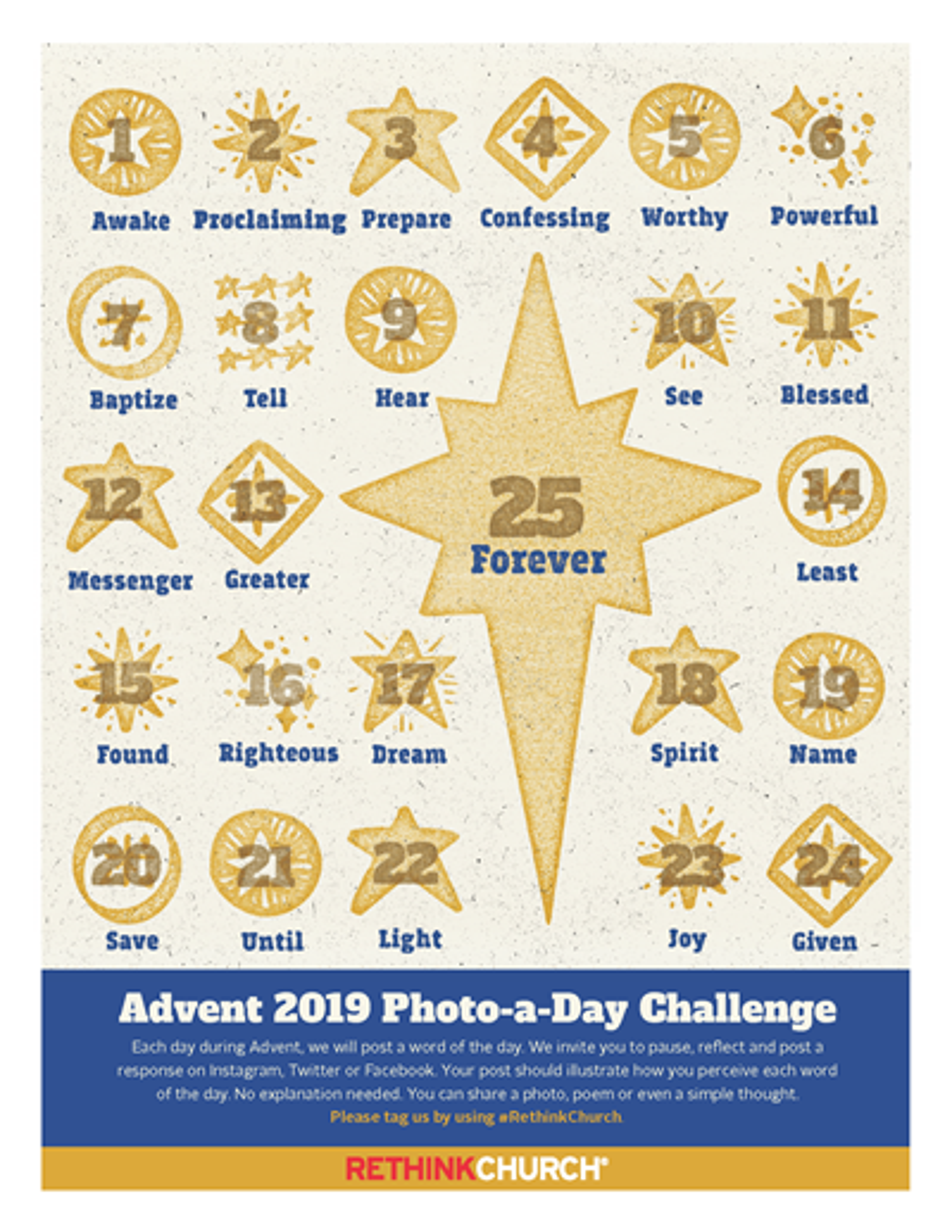 Rethink Church Advent Calendar 2019
