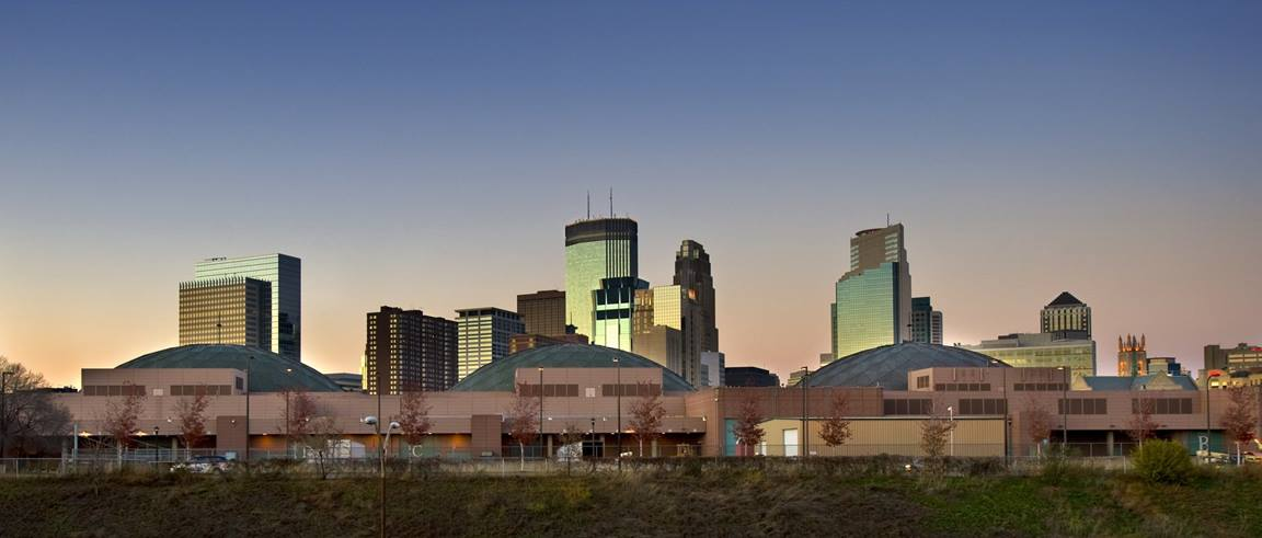 The Minneapolis Convention Center will serve as the 2020 United Methodist General Conference May 5-15, 2020. (Photo by Patrick Kelley Worldwide Photography, Courtesy of Meet Minneapolis and the Minneapolis Convention Center.)