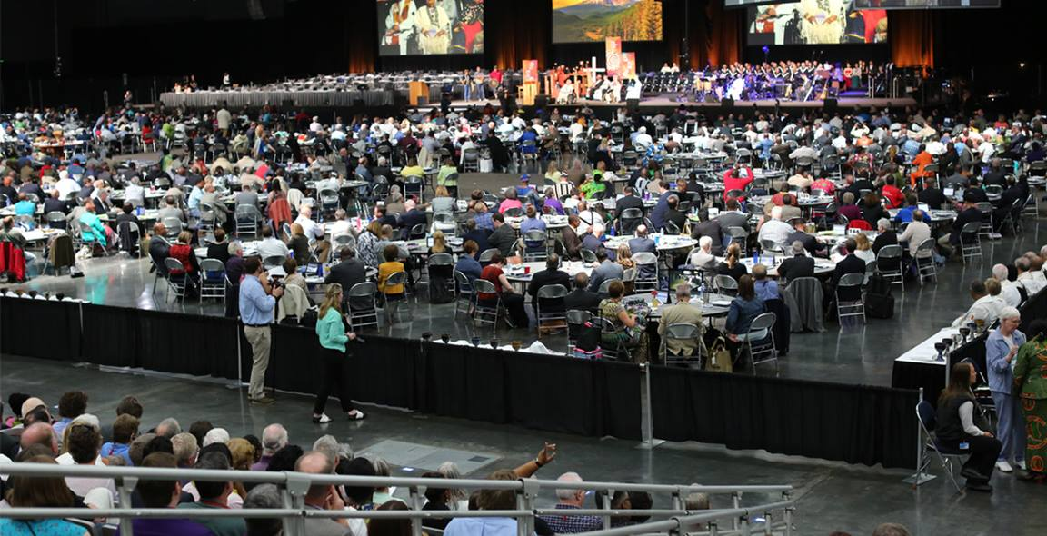 It can be easy for many of us to feel far removed from General Conference activities, but there are ways we can stay connected. Photo by Kathleen Barry, United Methodist Communications.