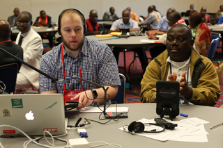 UMC.org/GC2019 includes a live stream of the proceedings and lots of information for before and after the special session. File photo by Kathleen Barry, United Methodist Communications.