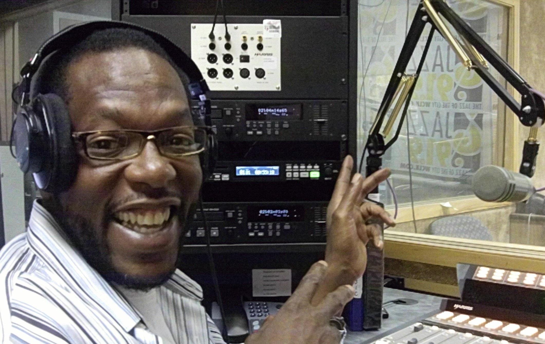 Morris Baxter, on-air personality at WCLK, Atlanta