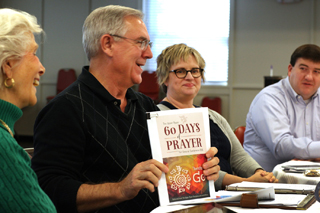 60 Days of Prayer is a wonderful resource to help you be in prayer for General Conference before, during and after the gathering. Photo by Kathleen Barry, United Methodist Communications.