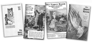 The first four issues of The Upper Room, which began as a one-issue experiment, were printed in limited quantities. Image courtesy The Upper Room.