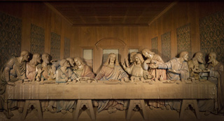The Upper Room name calls to mind the Last Supper where the disciples spent special time with Jesus. Photo by Kathleen Barry, United Methodist Communications.