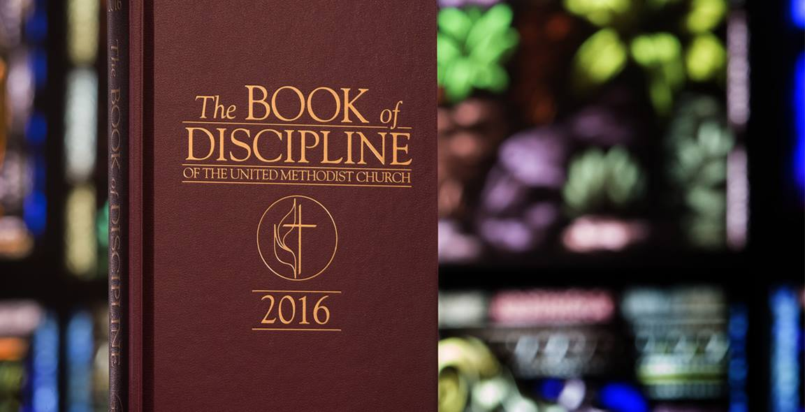 The Commission on a Way Forward suggests changes to our Book of Discipline. Photo by Mike DuBose, United Methodist Communications.