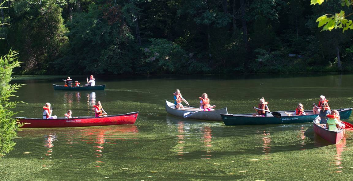 There are many ways to get closer to God at camp. File photo by Kathleen Barry, United Methodist Communications.