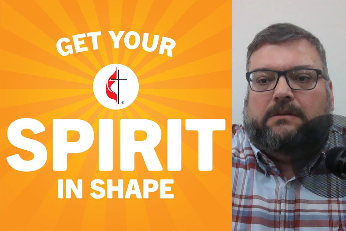 Using clips from previous Get Your Spirit in Shape podcast conversations, host Joe Iovino shares some spiritual nutrition and exercises for social distancing and coronavirus. Image by Joe Iovino.