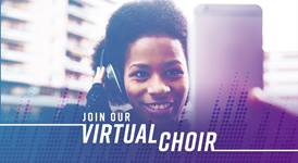 Join The United Methodist Church's virtual choir for Easter Sunday.