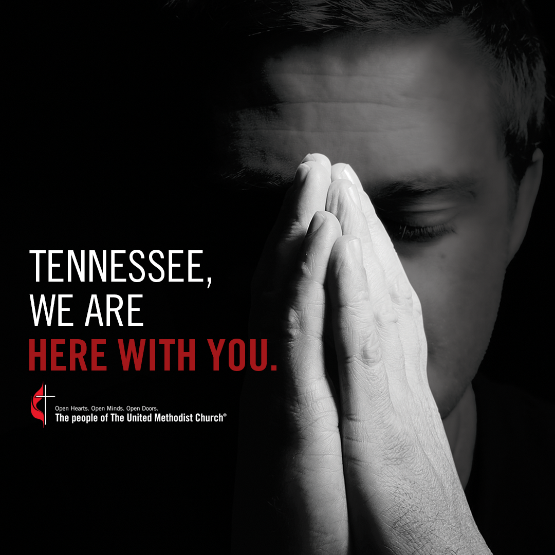 Tennessee, we are with you social media graphic