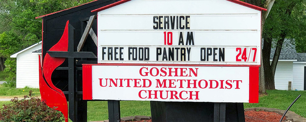Feeding, Clothing and Healing in Goshen
