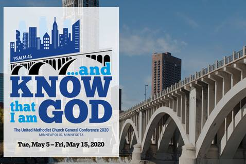 Visit the official site of General Conference 2020. Image by United Methodist Communications.