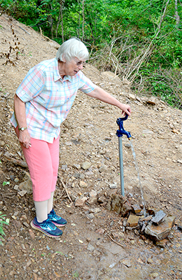 Advance Jubilee Water Project provides water to mountain homes
