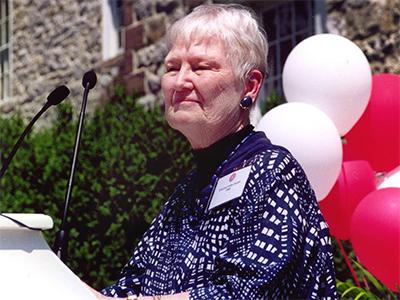 Alumnae Profile: Rev Frances Helen Foley Guest
