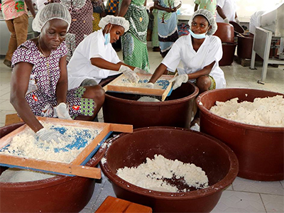 Ivorian dish cooking up profits for women