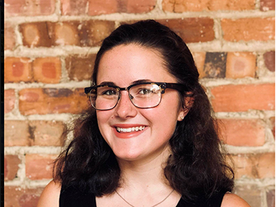 Future English teacher Taylor McKay Hathorn prepares to lead