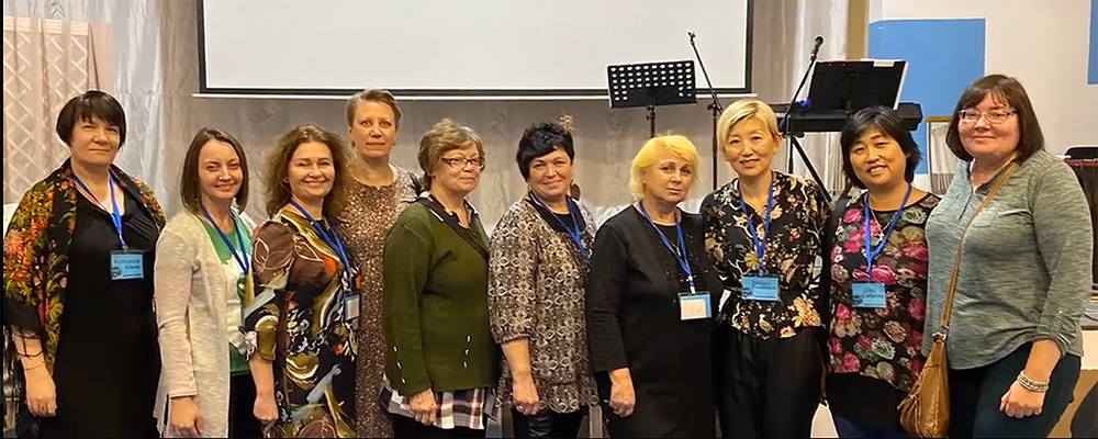 Eurasian retreat focuses on women's call.