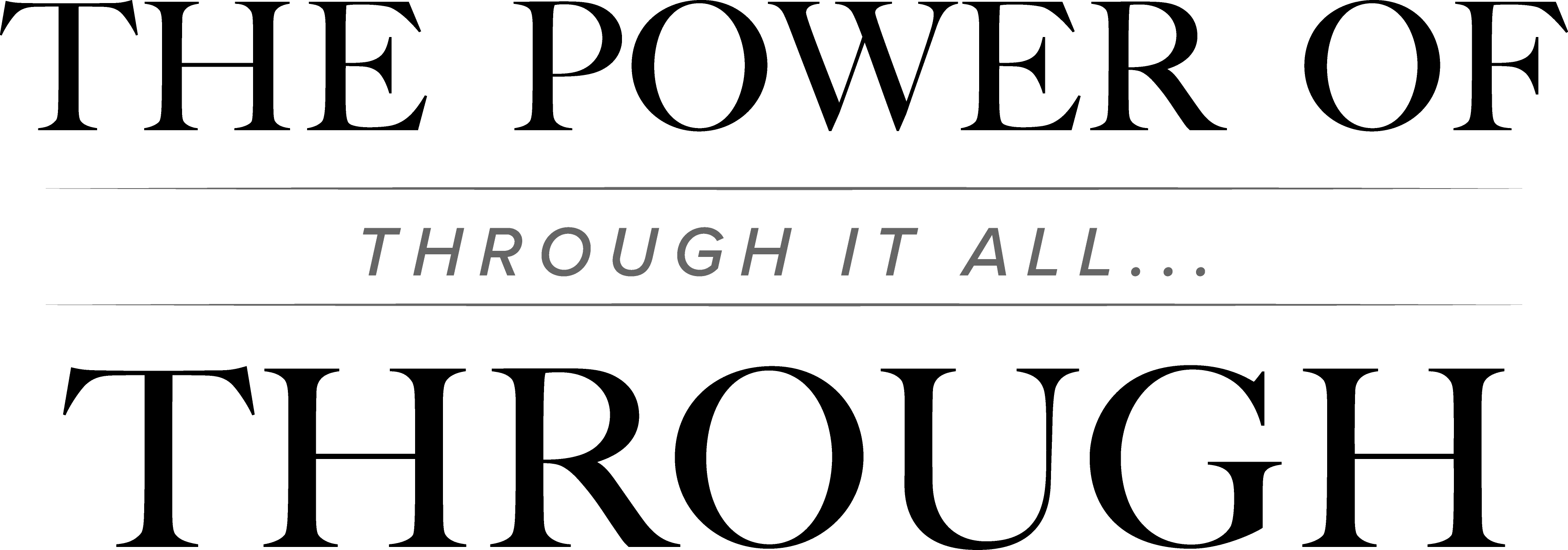 The Power of Through is the theme of a Heritage Sunday sermon from The Rev. Alfred Day III.