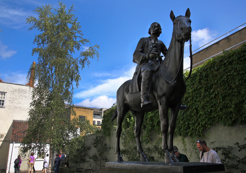 John Wesley a élargi son travail de rassemblement des méthodistes dans des sociétés et des classes au New Room de Bristol, en Angleterre. Photo de Kathleen Barry, United Methodist Communications.