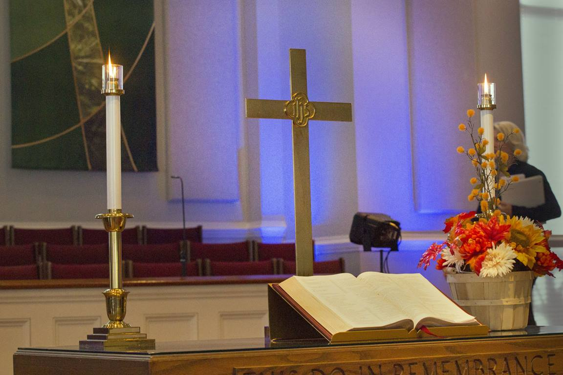 When we return to worship, we should be prepared for things to be different. File photo by Kathleen Barry, United Methodist Communications.