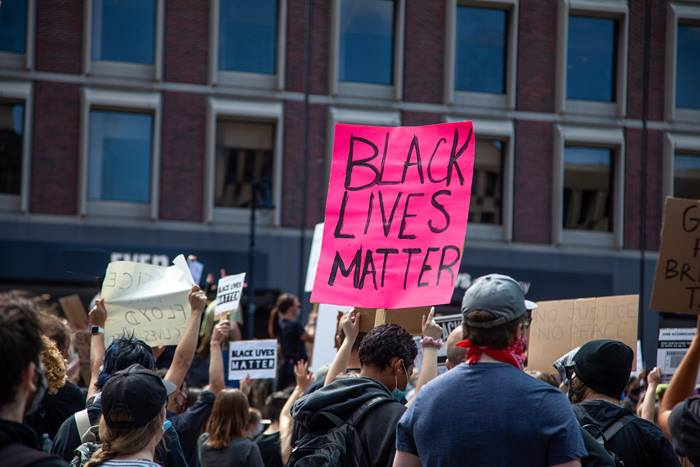 Protest for Black Lives Matter following killing of George Floyd