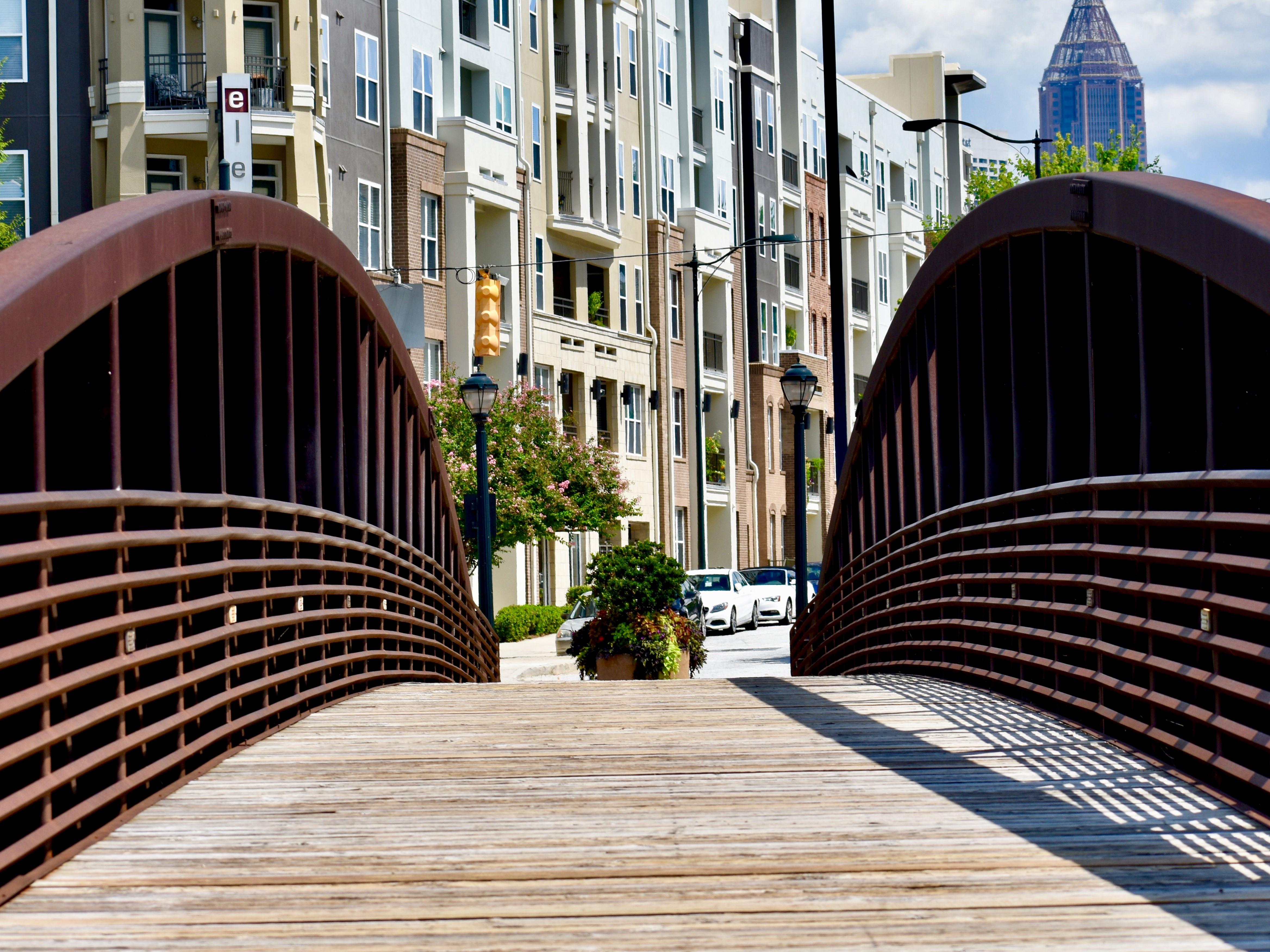 Ponte em Atlanta, GA, bairro