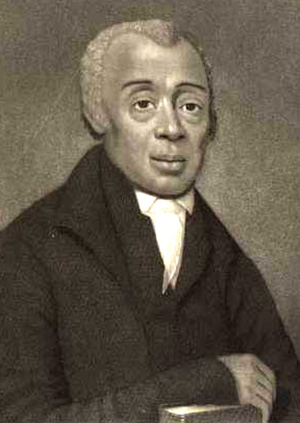 Richard Allen, a former slave, served as a Methodist bishop and was founder of the African Methodist Episcopal Church. Image courtesy of the African Methodist Episcopal Church.