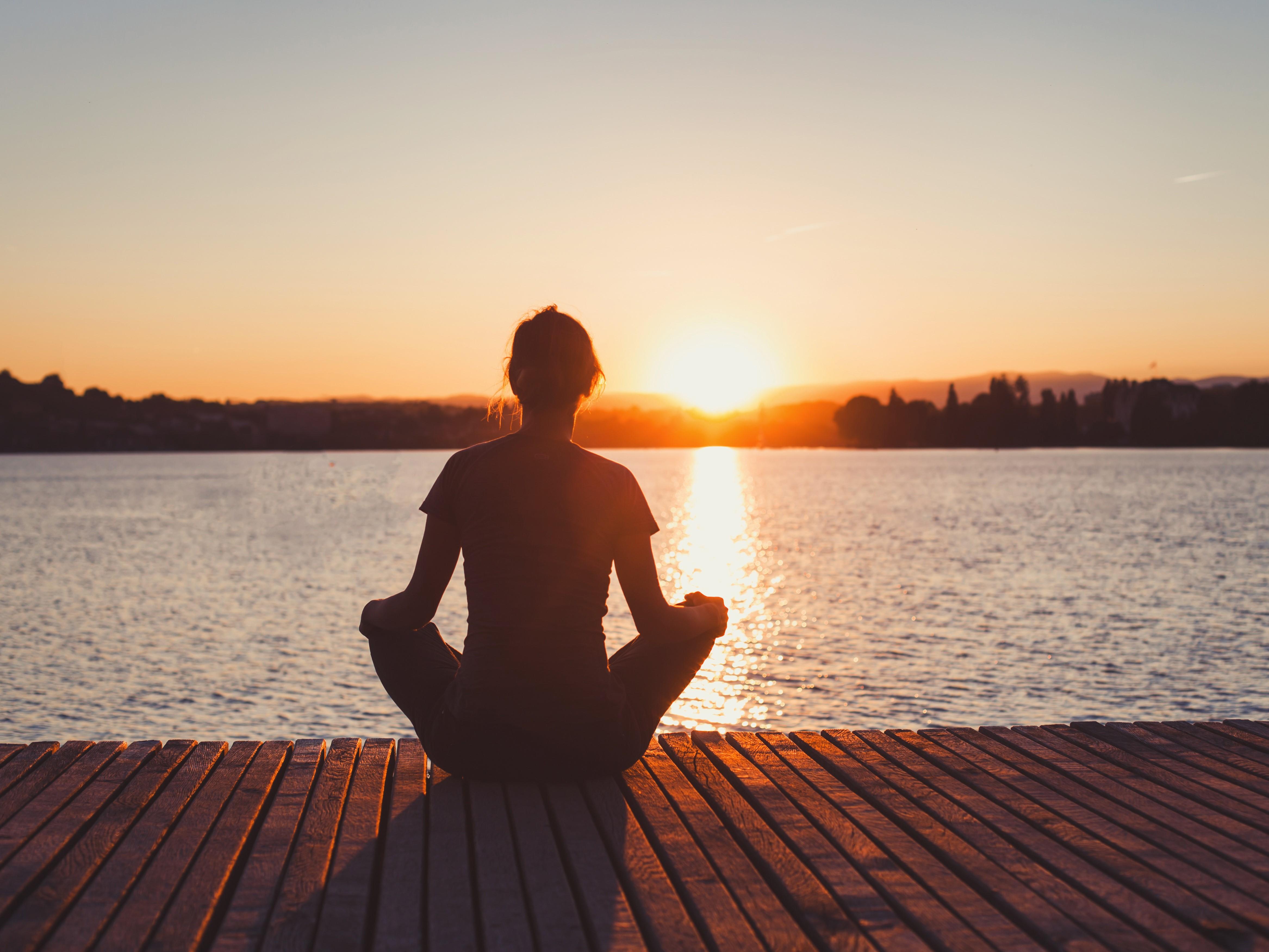 Presencia, respiración y meditación