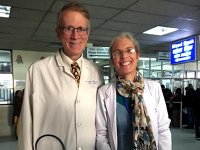 Dr. and Mrs. Mark Zimmerman,