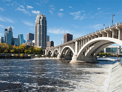 City of Minneapolis Bridge where 20201 General Conference will take place.