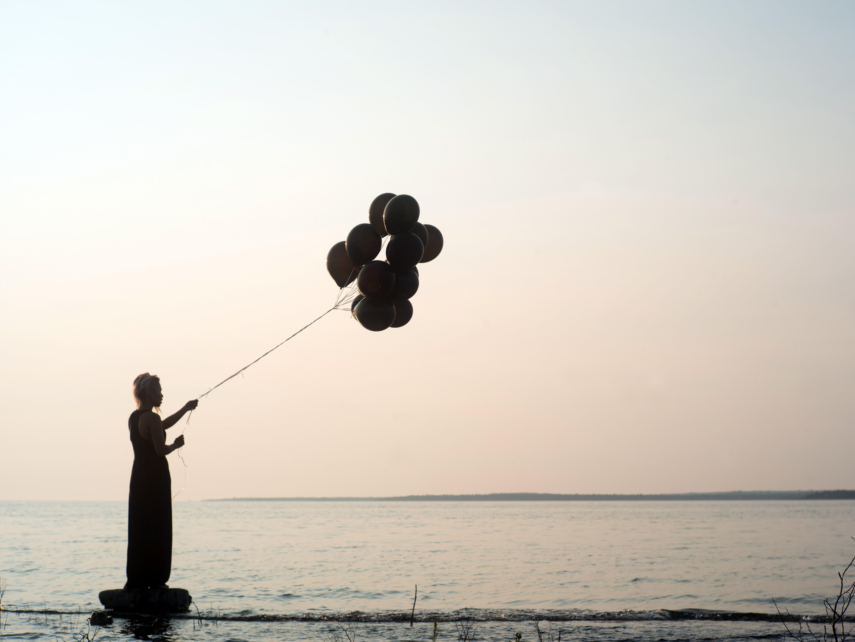 Letting go feels like embracing emptiness