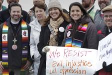 United Methodists vow to renounce, reject and resist evil, injustice and oppression as we choose to become part of God's inclusive church. File photo by Kathy L. Gilbert, UMNS.