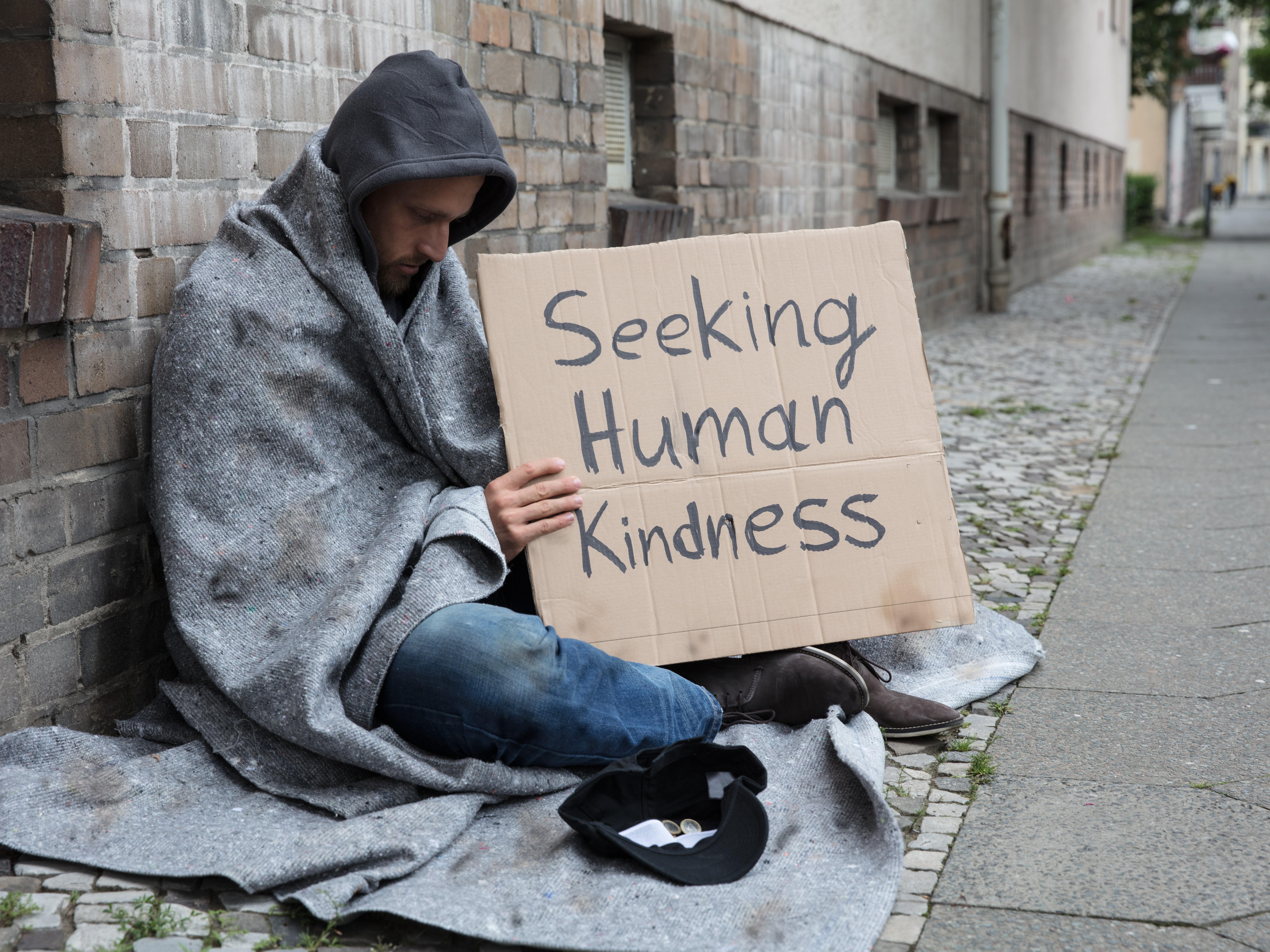 Seeking human kindess