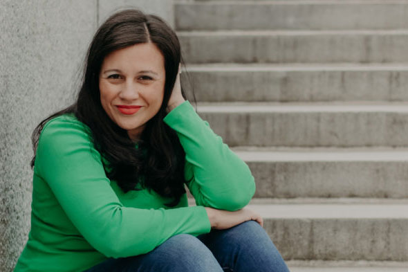 United Methodist Marlena Graves is the author of 'The Way Up is Down.' Image courtesy InterVarsity Press.