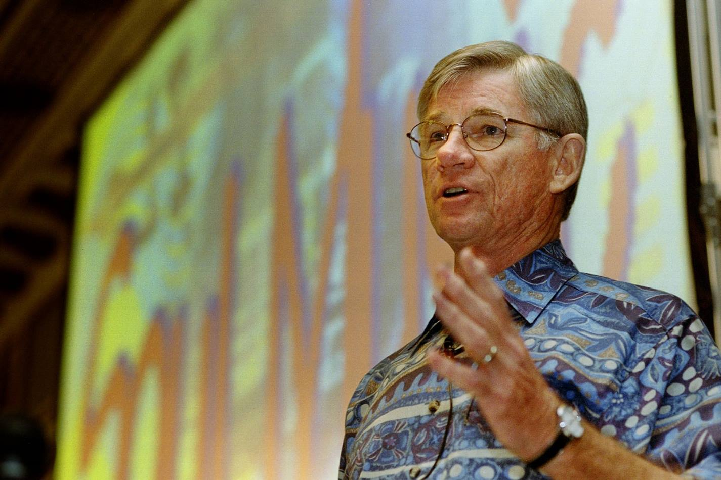 Rev. Tex Sample in 2006 Photo by Mike DuBose, United Methodist Communications