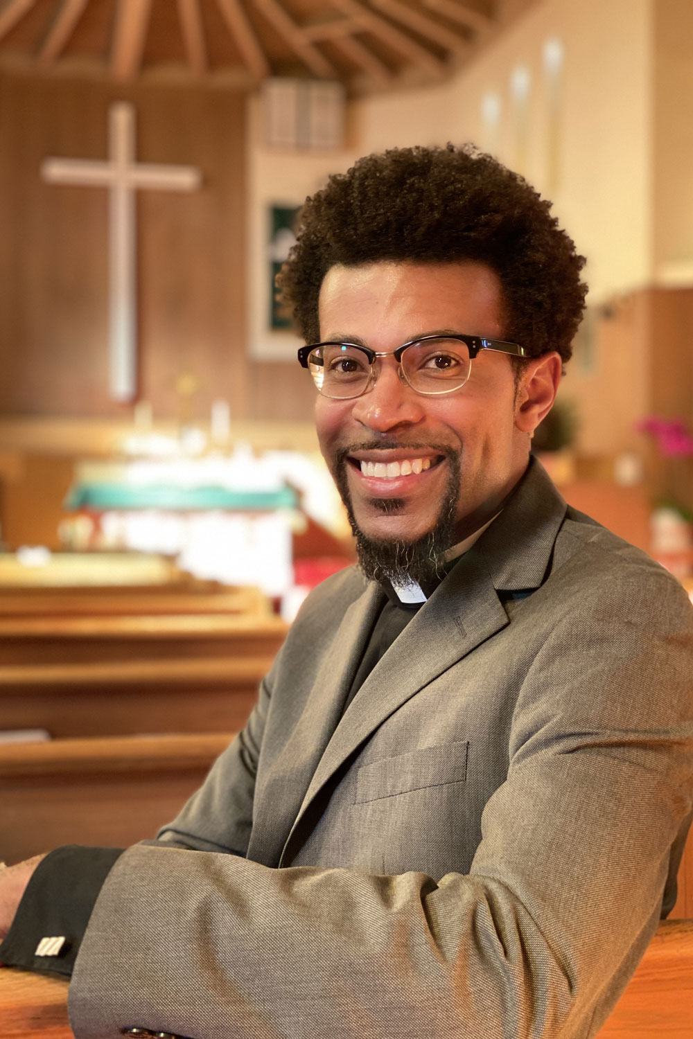 The Rev. Dr. Theon Johnson III is a participant in our August 12, 2020, Dismantling Racism Town Hall.