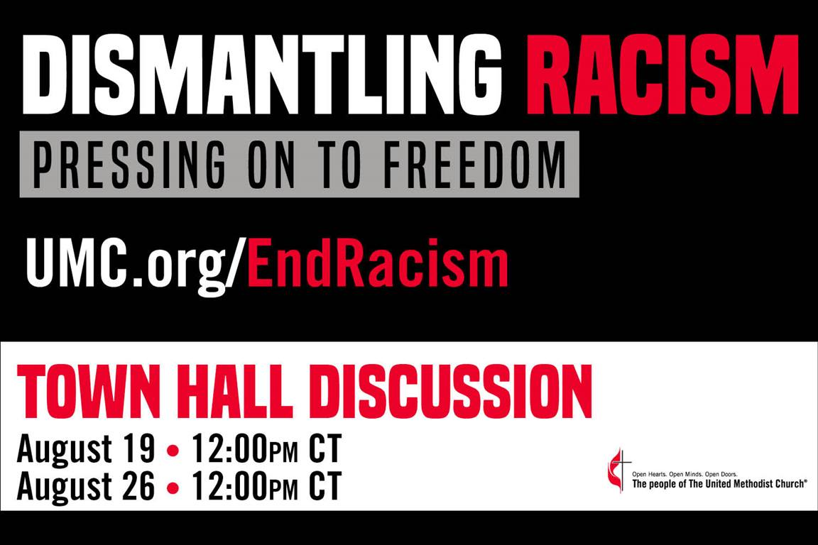 Two Dismantling Racism Town Halls will be held in August. Image by United Methodist Communications.