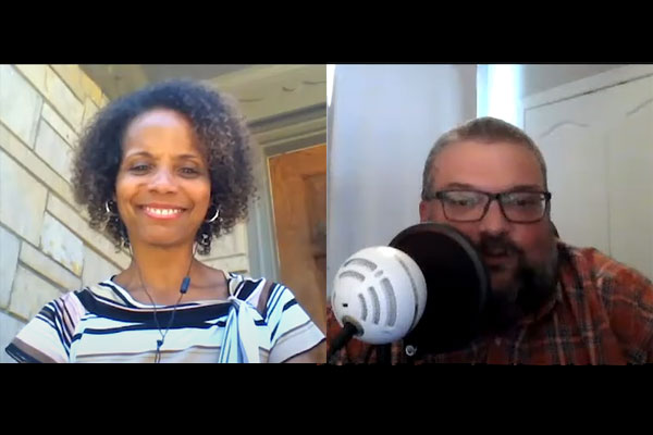 Dr. Leah Gunning Francis talks about racial justice on an episode of 'Get Your Spirit in Shape.'