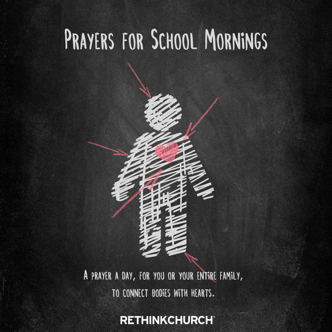 Download your family's prayer guide for school mornings