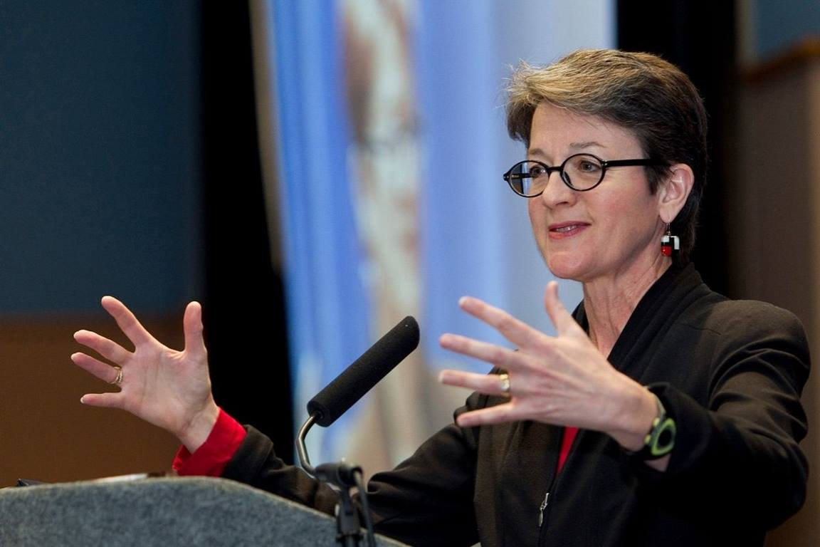 Bishop Sally Dyck, Ecumenical Officer for the Council of Bishops said the grants are used to deepen ecumenical and/or interreligious relationships across the United Methodist Connection through local ministries.  (	File photo by Mike DuBose, UMNS)
