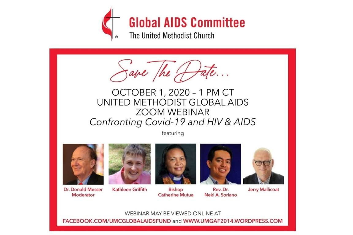 """COVID-19 and HIV & AIDS"" webinar details shared. (Image courtesy of Global AIDS Committee)"