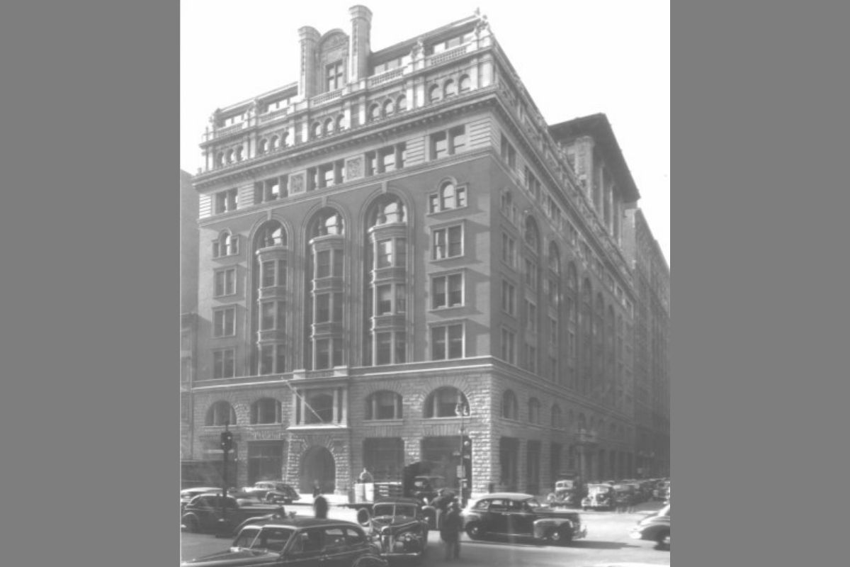 "On Oct. 1, 1940, the Rev. Ralph Stoody opened the ""Commission on Public Information"" office at 150 5th Avenue N. in New York, known more informally as Methodist Information or MI. (Photo courtesy of United Methodist Communications)"